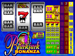 Blackjack Bonanza casino game